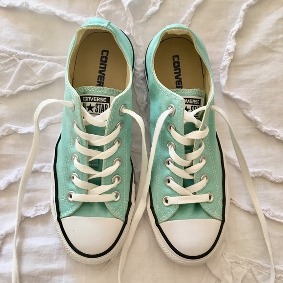 Converse Shoes - Sea-foam green Converse 59a1ebab0
